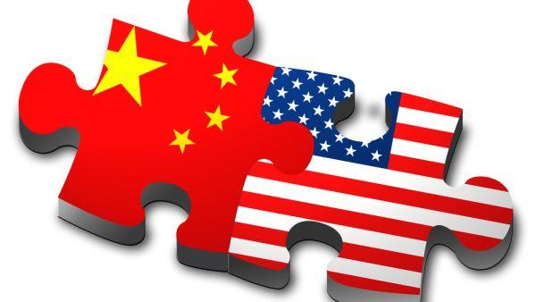 Čína a USA. Ilustrační foto
