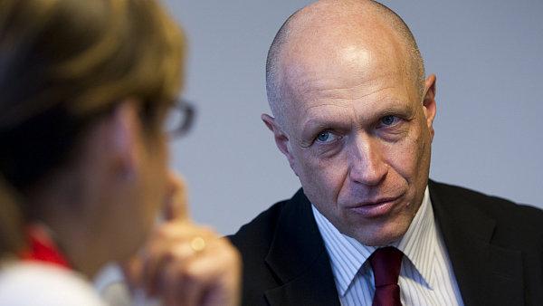 Šéf České spořitelny Pavel Kysilka.