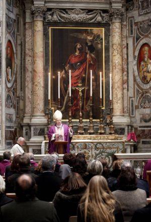 Zádušní mše za Václava Havla ve Vatikánu
