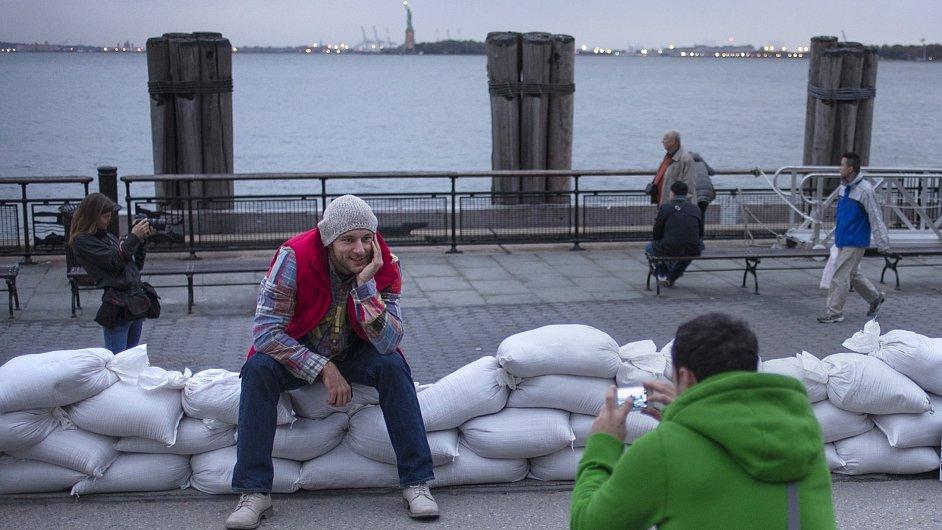New York se připravuje na hurikán Sandy