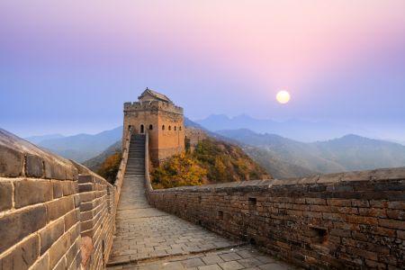 Velká čínská zeď naše turisty ohromila.
