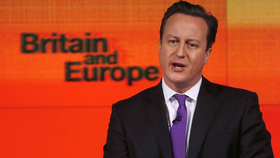 Britský premiér David Cameron
