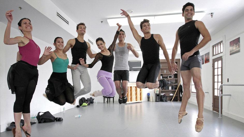 Uprchlí členové kubánského baletu