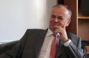 Generální ředitel Třineckých železáren Jan Czudek.