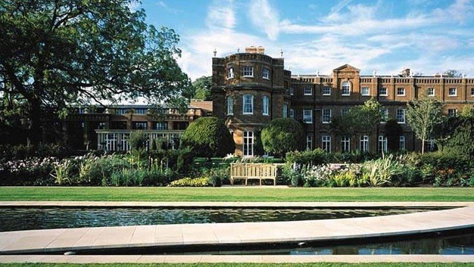 Hotel The Grove v britském hrabství Hertfordshire