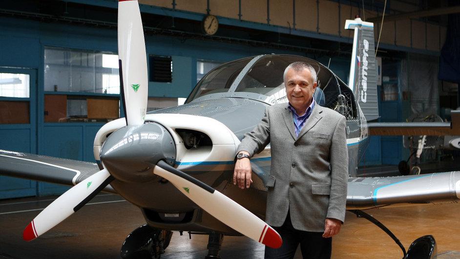 Majitel Zlín Aircraft Miloslav Tutter