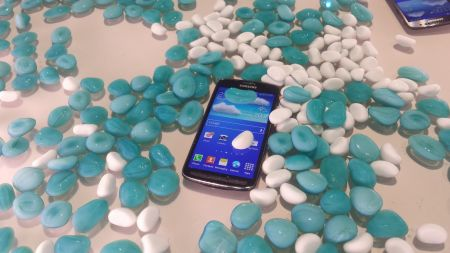 Galaxy S4 Active pod vodou
