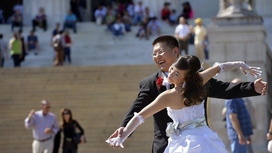 Čínský pár, ilustrační foto.