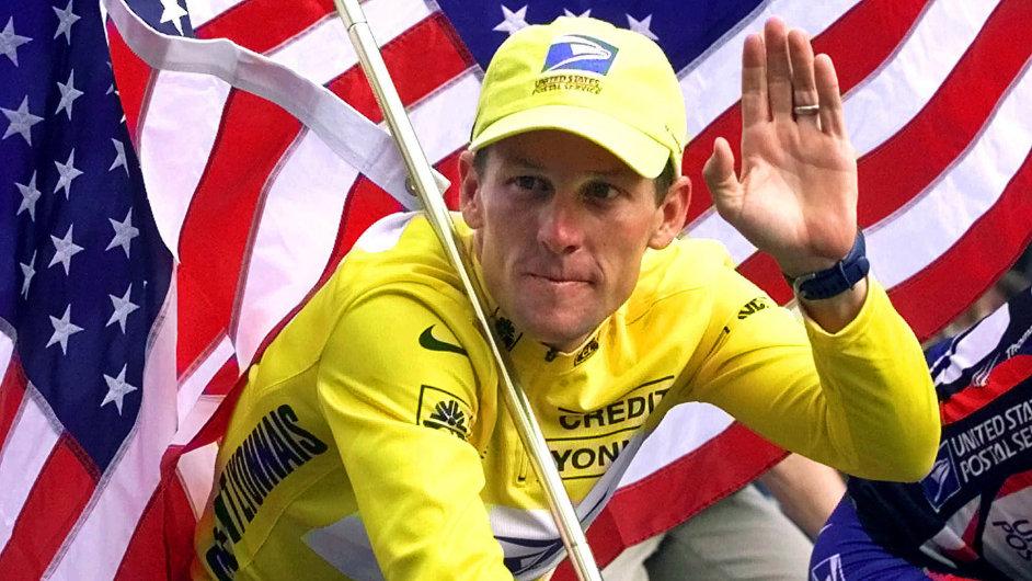 Lance Armstrong jako cyklistický vítěz