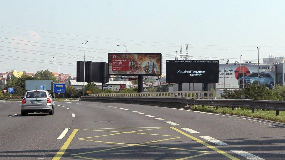 Billboardy, ilustrační foto