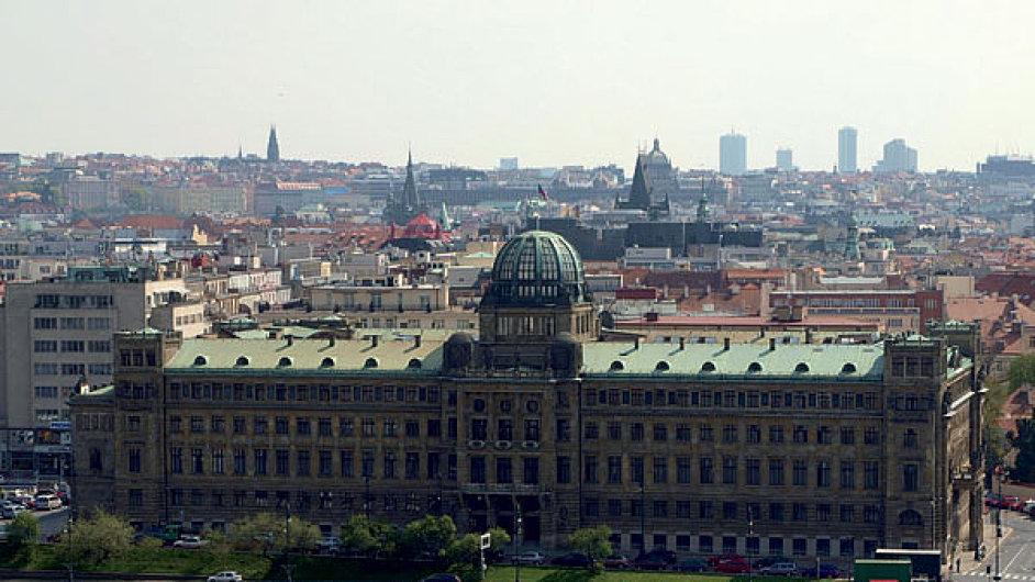 Budova Ministerstva průmyslu ČR a obchodu
