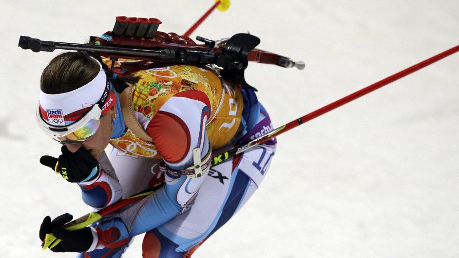 Jitka Landová v olympijské štafetě