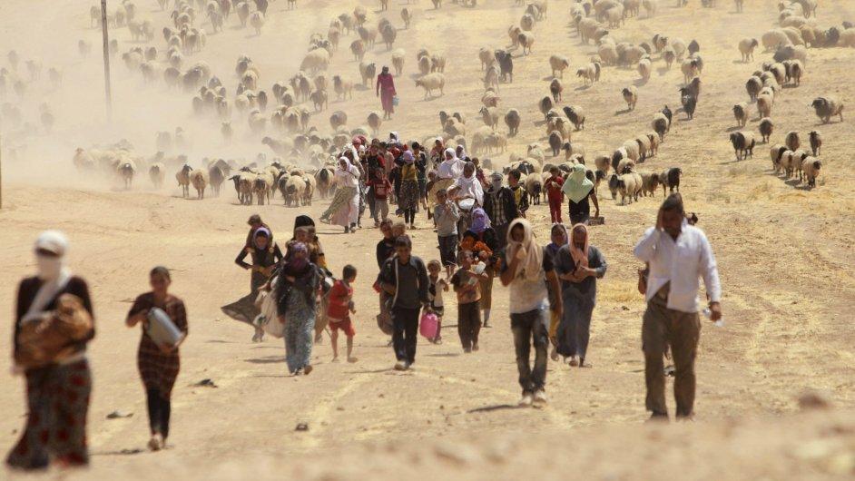 Uprchlíci v severním Iráku