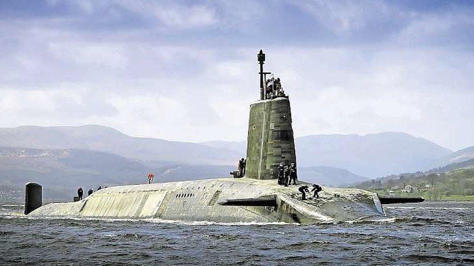 Britská ponorka třídy Vanguard HMS Vigilant