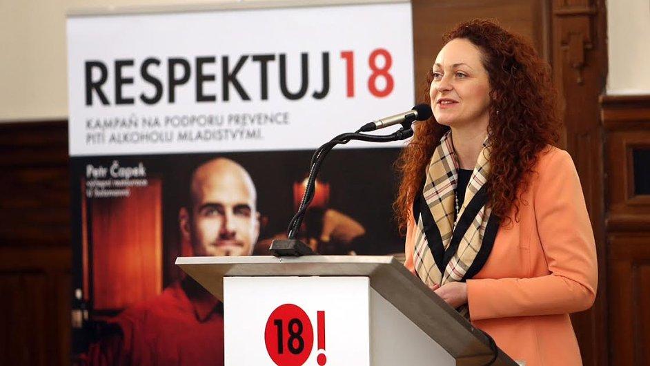 Drahomíra Mandíková představuje projekt Respektuj 18