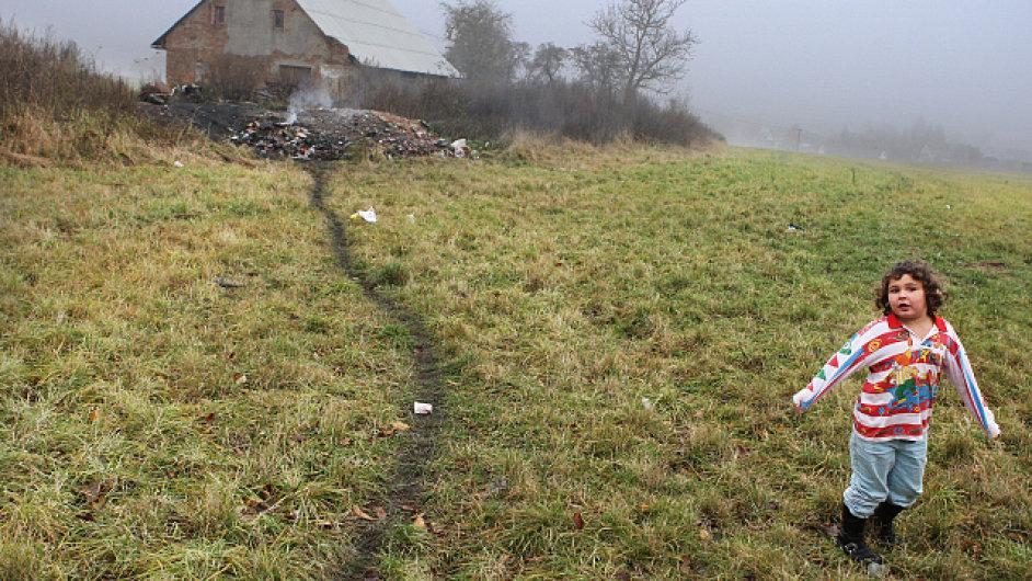 Vyloučená lokalita na Bruntálsku -ilustrační foto