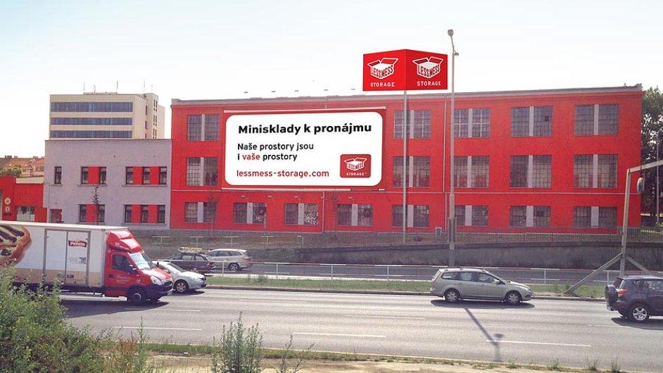 Pobočka Less Mess Storage v pražských Holešovicích.
