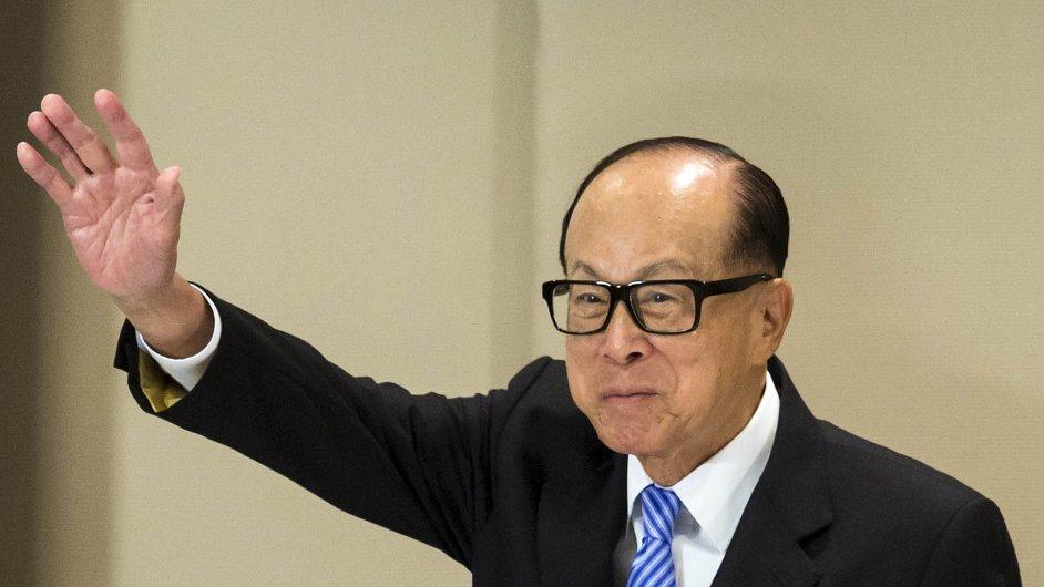 Miliardář z říše středu: Li Ka-šing (86) je nejbohatším člověkem v Číně.