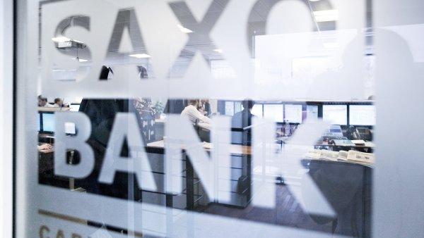 D�nsk� Saxobank se kv�li pos�len� �v�carsk� m�ny dostala do pot�� (ilustra�n� foto).