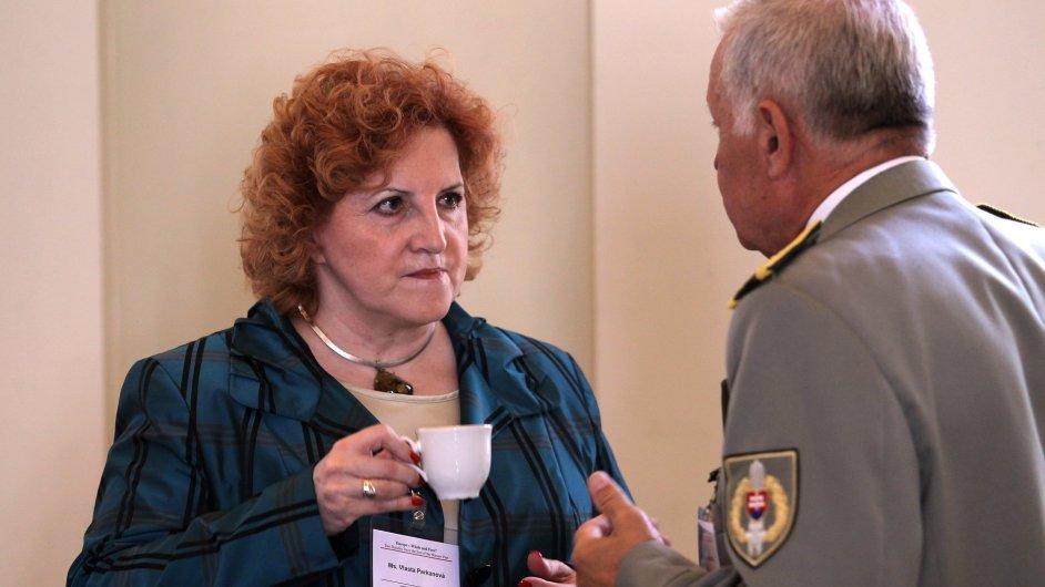 Jednou z obžalovaných je i bývalá ministryně obrany Vlasta Parkanová (ilustrační foto).