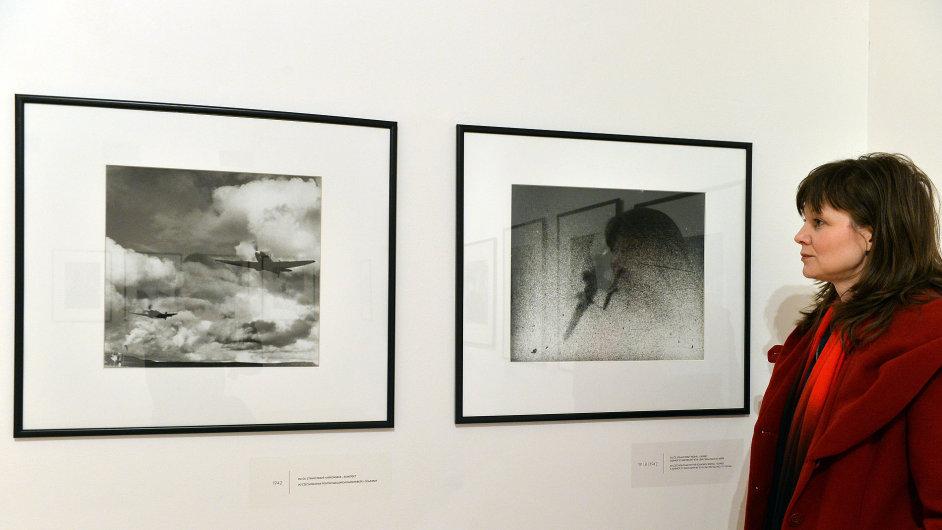 Snímky z výstavy Ladislava Sitenského
