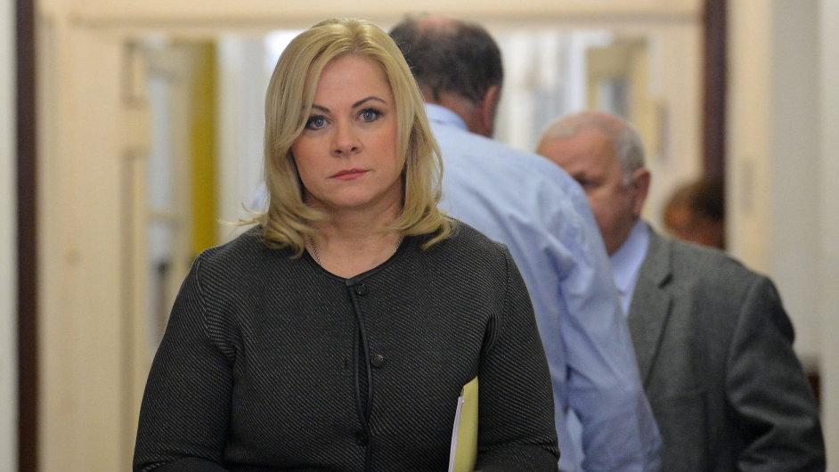 Jana Nečasová, dříve Nagyová, je údajně obviněna z krácení daní.
