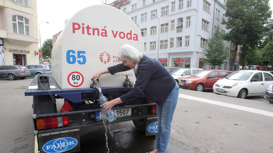 Havárie vody, Praha 6