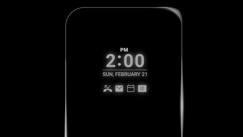 LG G5 s trvale rozsvíceným displejem
