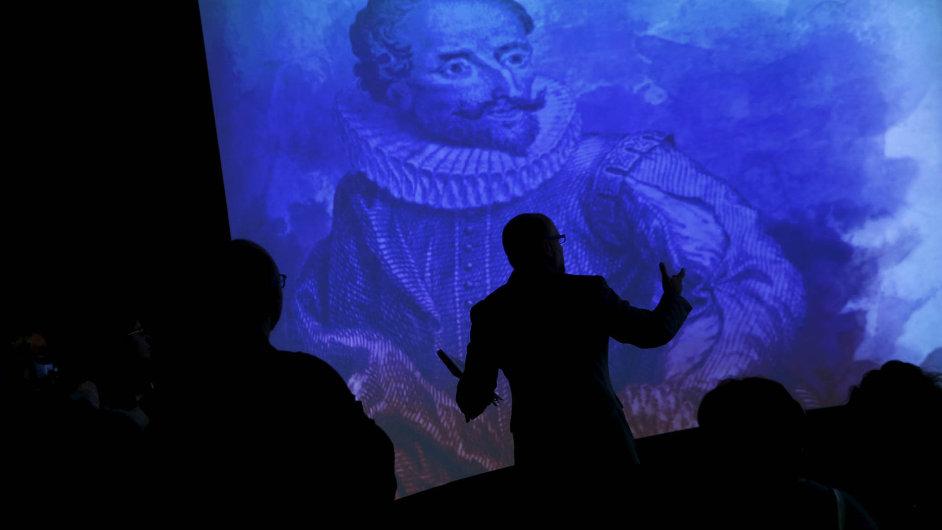 Výstava Miguela Cervantese v Madridu zahajuje oslavy 400 let od úmrtí slavného spisovatele, který je považován za vynálezce románu.