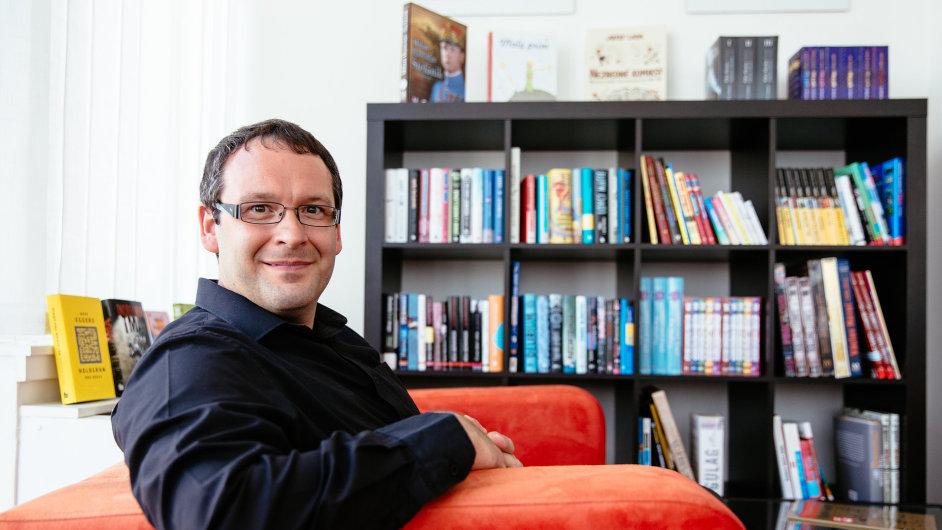 Generální ředitel vydavatelské skupiny Albatros Media Václav Kadlec