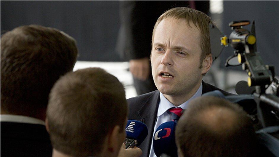 náměstek ministra zahraničí Jakub Kulhánek