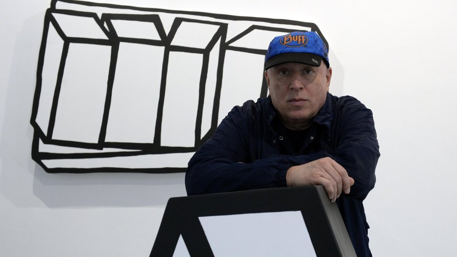Výtvarník Jiří Georg Dokoupil