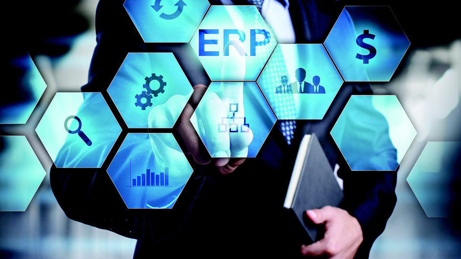 Informační systém, ERP, ilustrace