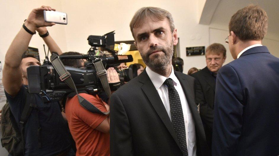 Robert Šlachta na zasedání sněmovního výboru pro bezpečnost