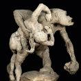 V Dr��anech vystavuj� sochu gorily i anom�lie lidsk�ch t�l, expozice zkoum� ko�eny rasismu