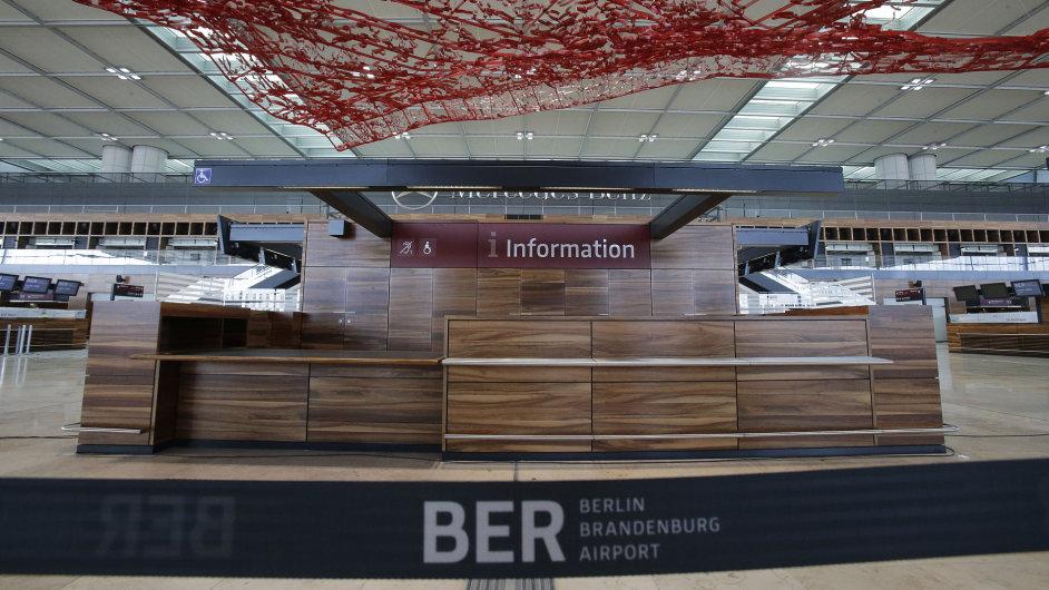 Berlínské letiště Brandenburg international airport Willy Brandt