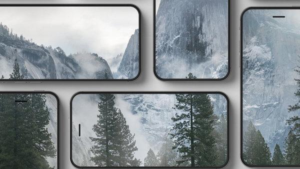 iPhone koncept (iPhone 2016 vision) podle českého designéra Marka Weidlicha