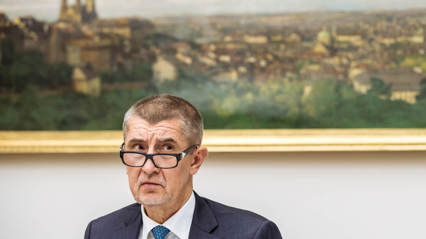Lídr hnutí ANO avicepremiér Andrej Babiš.