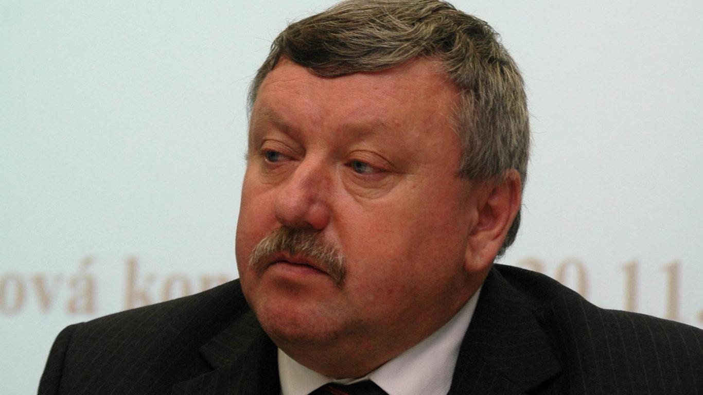 """""""Přestřelku"""" mezi Nejvyšším aÚstavním soudem rozjel případ Jiřího Gavendy (nasnímku zroku 2006), někdejšího předsedy představenstva agenerálního ředitele mlékáren Olma."""
