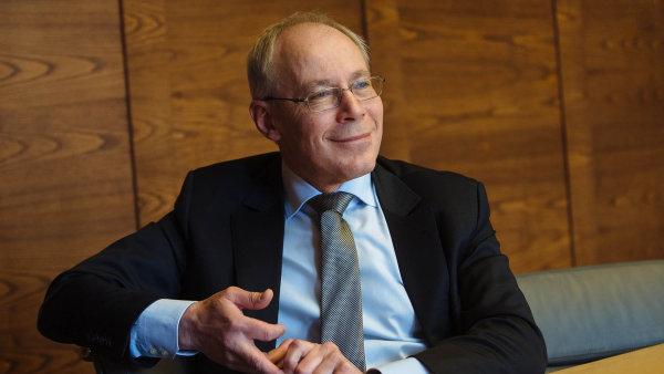 Generální ředitel Komerční banky Albert LeDirac'h
