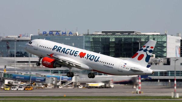 Na počtu cestujících se nízkonákladové společnosti podílely zhruba jednou třetinou - Ilustrační foto.