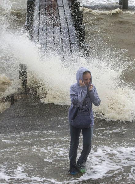 Hurikán Harvey pustoší Texas