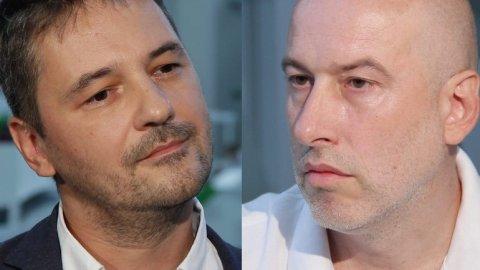 Trestá se na FAMU kritika? Vít Janeček (vpravo) ve svých textech lhal a manipuloval, tvrdí děkan Zdeněk Holý (vlevo).