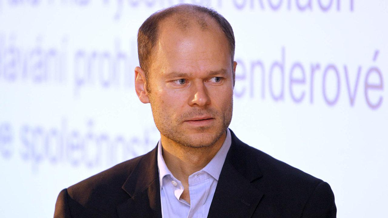Viceprezident Svazu průmyslu adopravy Radek Špicar.