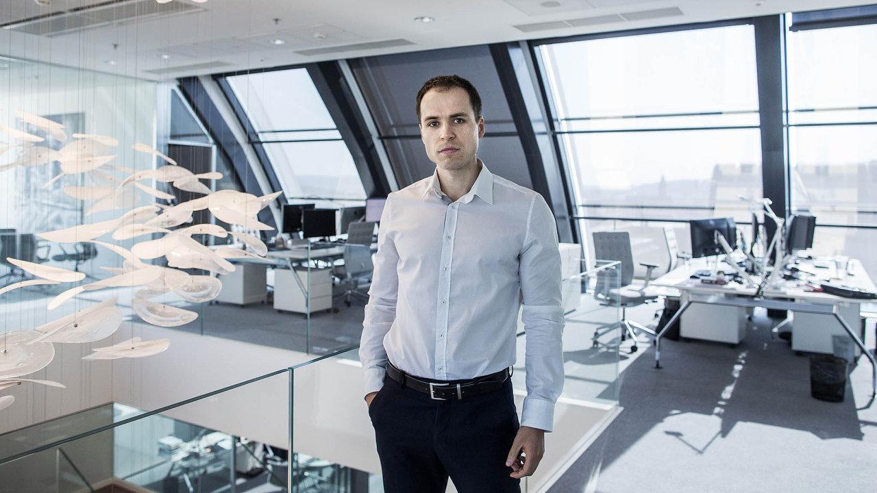 Tomáš Šusták, investiční manažer Penty, ve skupině odpovídá zabyznys německé firmy Gehring.