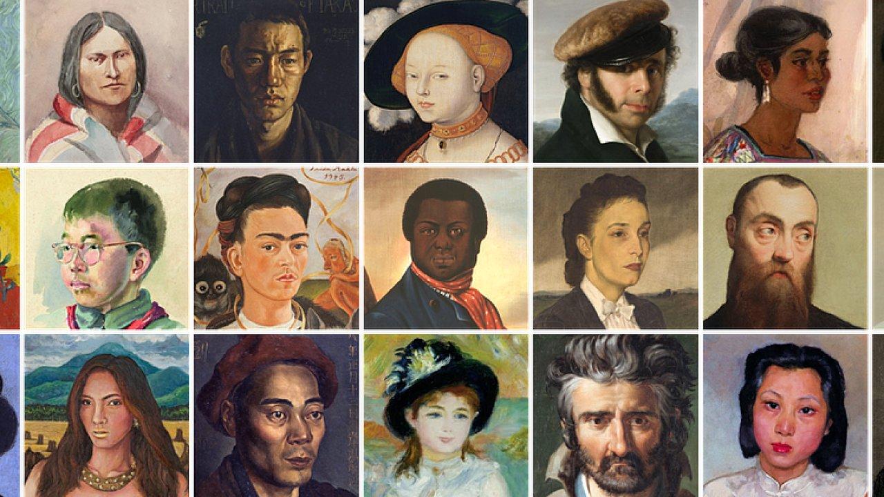 Aplikace vychází z databáze klasických i moderních umělecký děl.