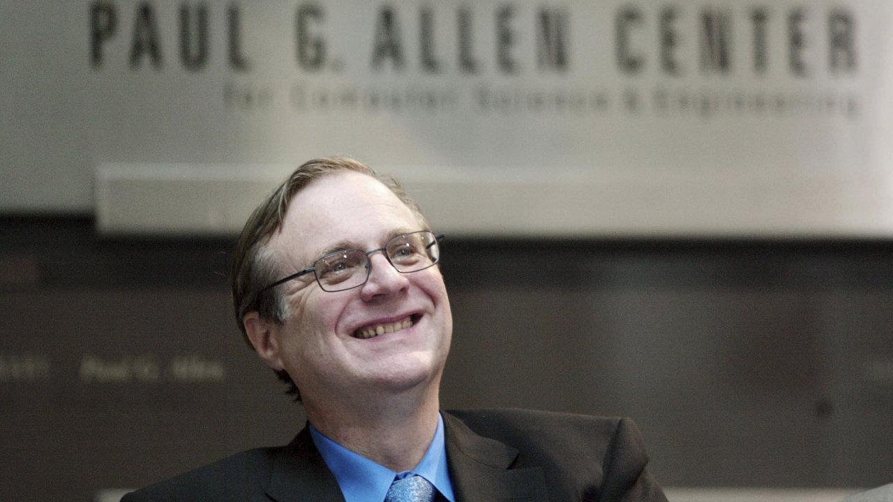 Spoluzakladatel Microsoftu, miliardář, filantrop a hledač lodních vraků Paul Allen podlehl v pondělí věku 65 let rakovině lymfatických uzlin.
