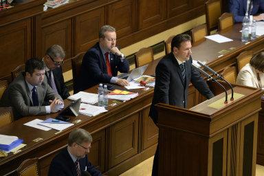 Poslanecká sněmovna Parlamentu České republiky - Ilustrační foto.