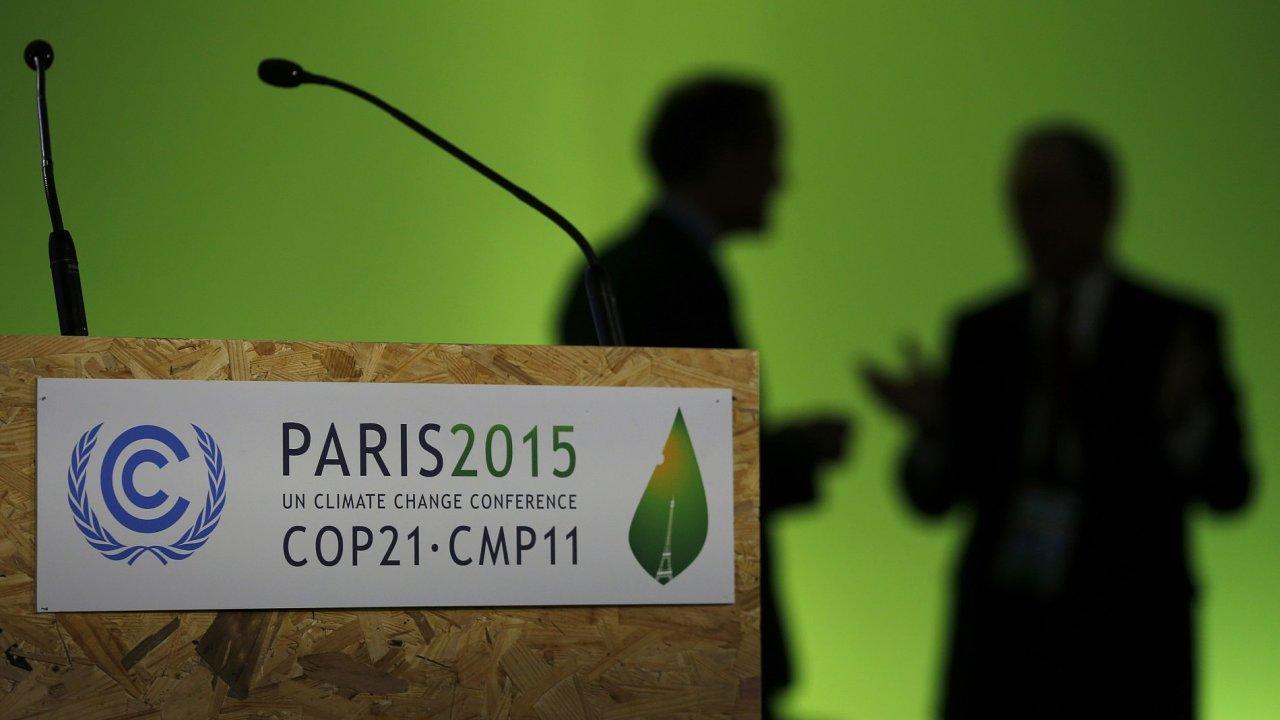 OSN konference v Paříži klima