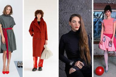 Zleva Josefina Bakošová, Buffet Clothing, Maria Kobelova a Mayda